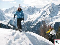 Schneeschuhwandern im Stubaital